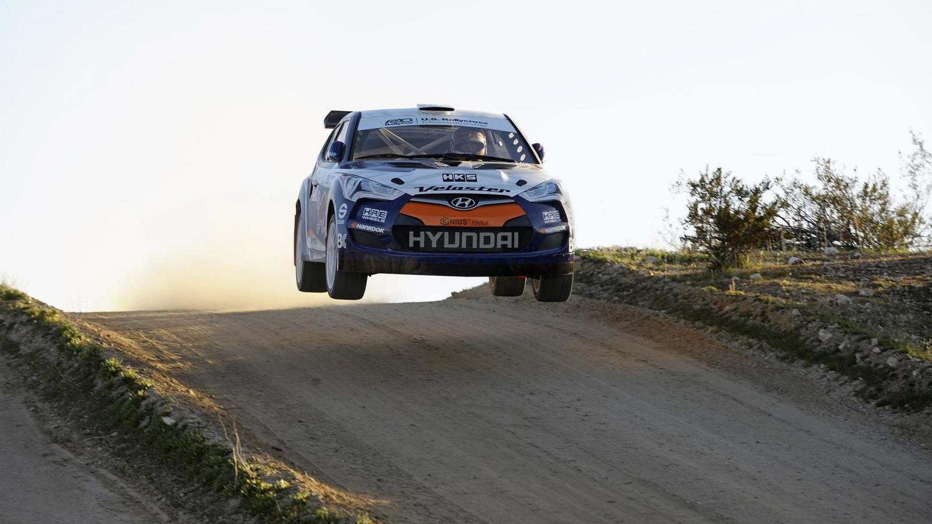 RMR Hyundai Veloster rally car unveiled