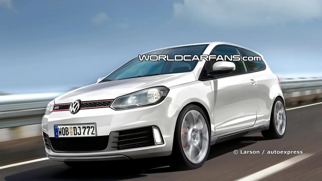 New Volkswagen Polo GTI Artists Rendering