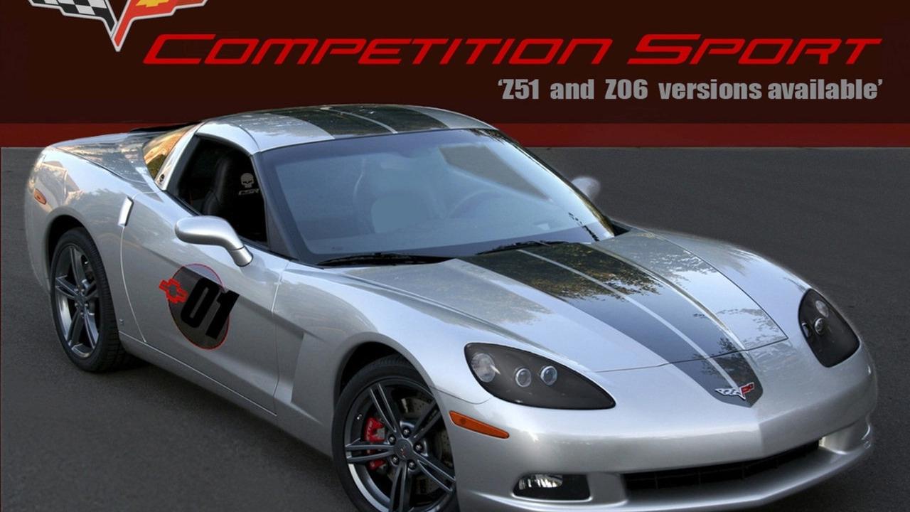 2009 Chevrolet Corvette Competition Sport Package