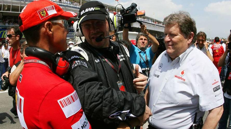 No new F1 career for Schu - Brawn
