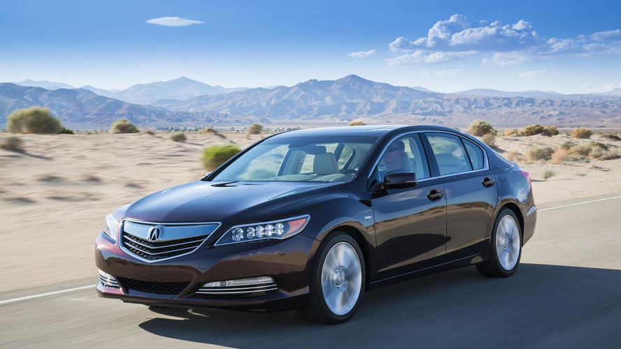 Acura RLX Sport Hybrid delayed due to a technical issue - report