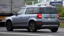 2014 Skoda Yeti facelift spy photo 10.07.2013