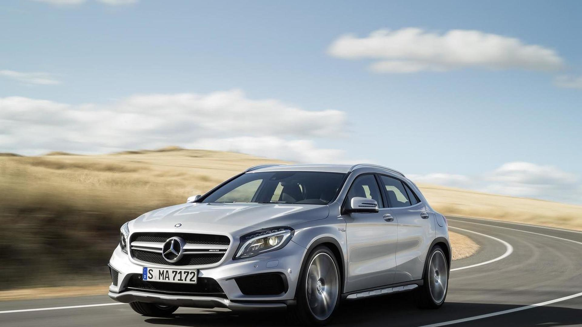 2019 mercedes gla to be larger could spawn a coupe variant. Black Bedroom Furniture Sets. Home Design Ideas