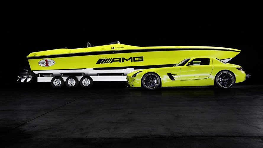 Cigarette AMG Electric Drive concept introduced in Miami