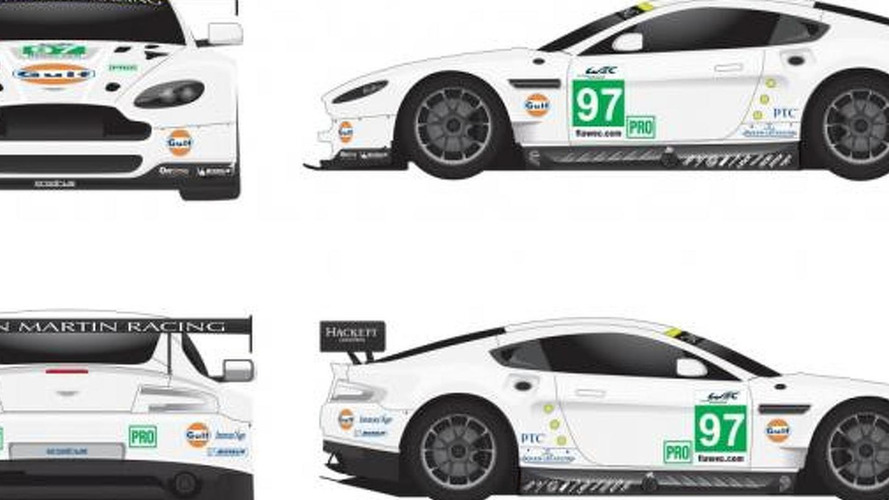 Aston Martin wants your help to create the Vantage GTE Gulf livery