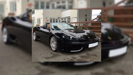 Score David Beckham's Ferrari 360 Spider For $119K