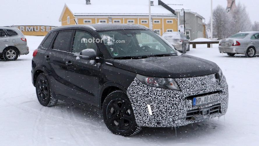 2018 Suzuki Vitara facelift spy photos