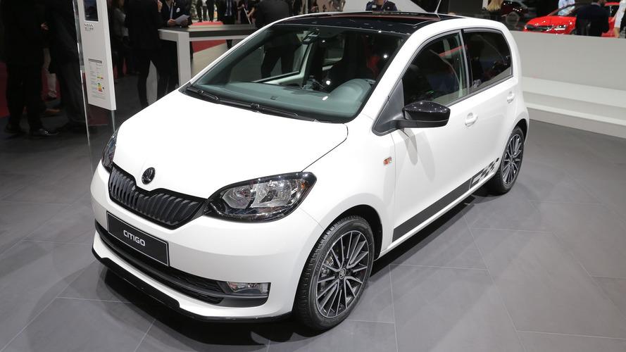 Genève 2017 - La Škoda Citigo s'offre un petit restylage