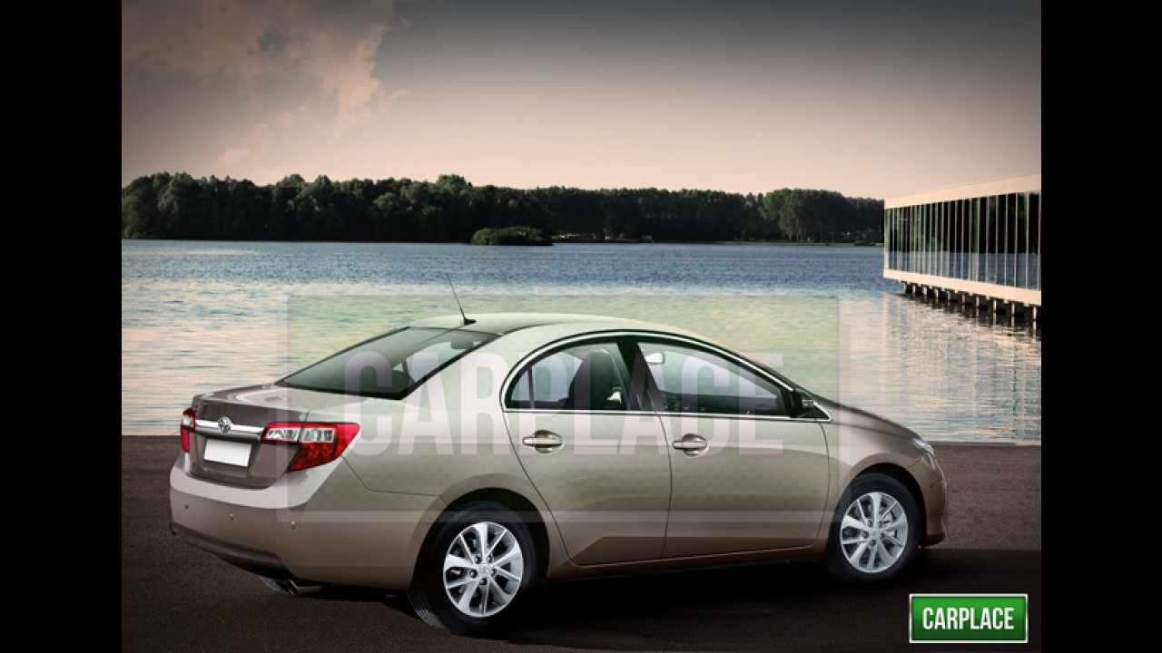 Segredo: saiba tudo sobre a próxima geração do Toyota Corolla - modelo chega ao Brasil em 2014
