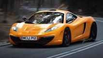 McLaren P12 (F1 successor) artist rendering