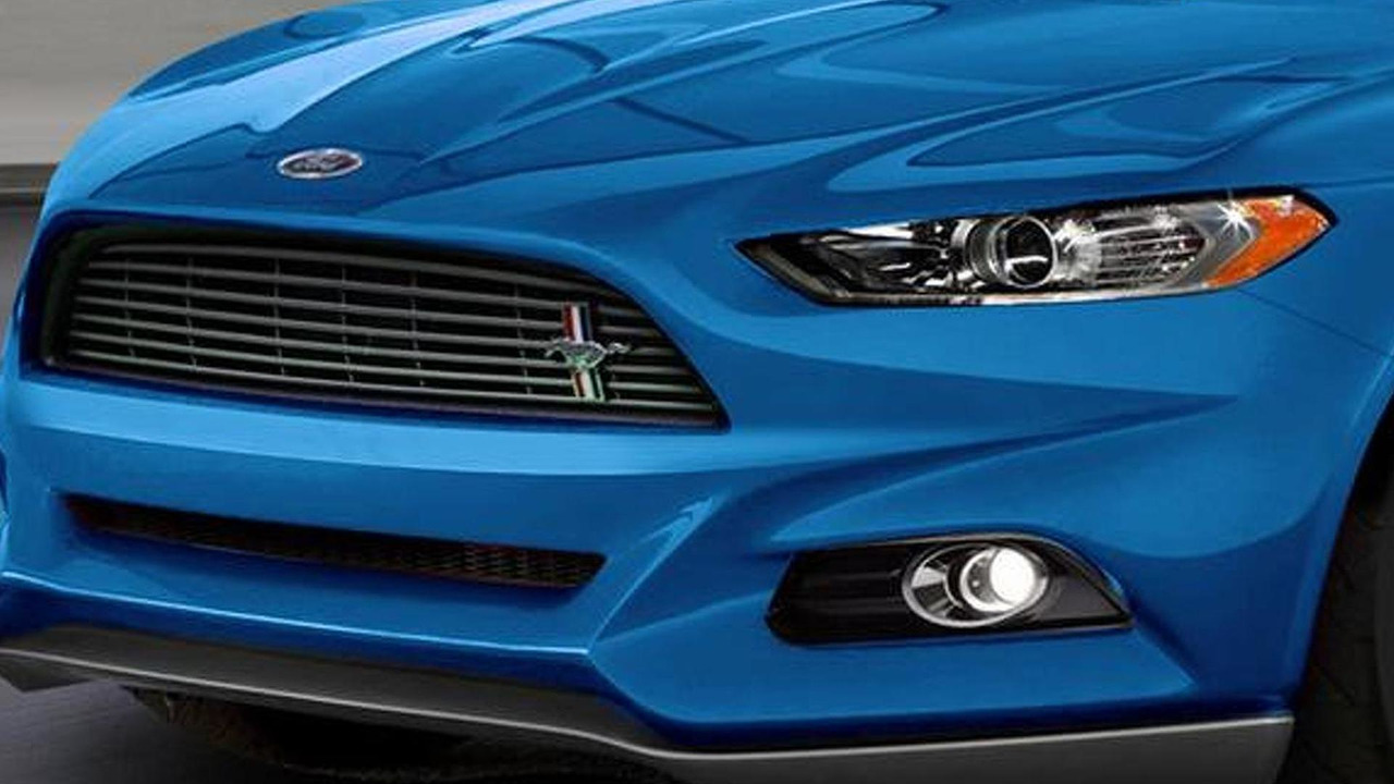 2015 Ford Mustang speculative render