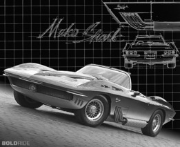 Chevrolet XP-755 Mako Shark Concept