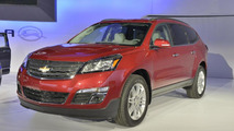 2013 Chevrolet Traverse live in New York 04.04.2012