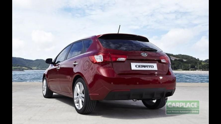 Kia inicia lançamento global do Novo Cerato Hatch