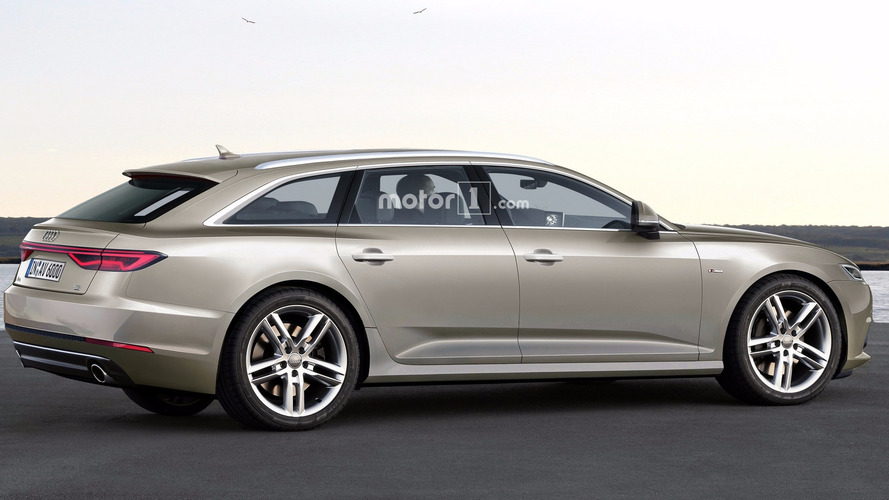 2018 Audi A6 Avant render shows great potential for sleek wagon