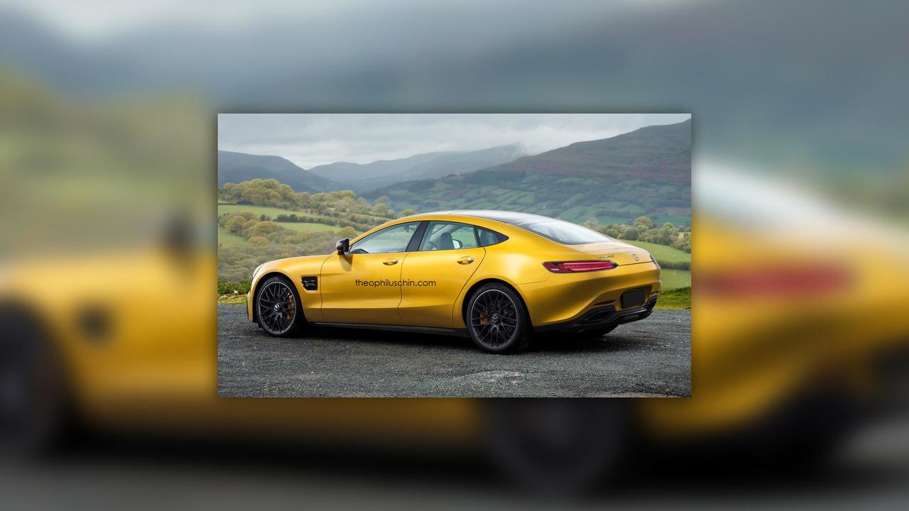 Mercedes-AMG GT 4 Rendering