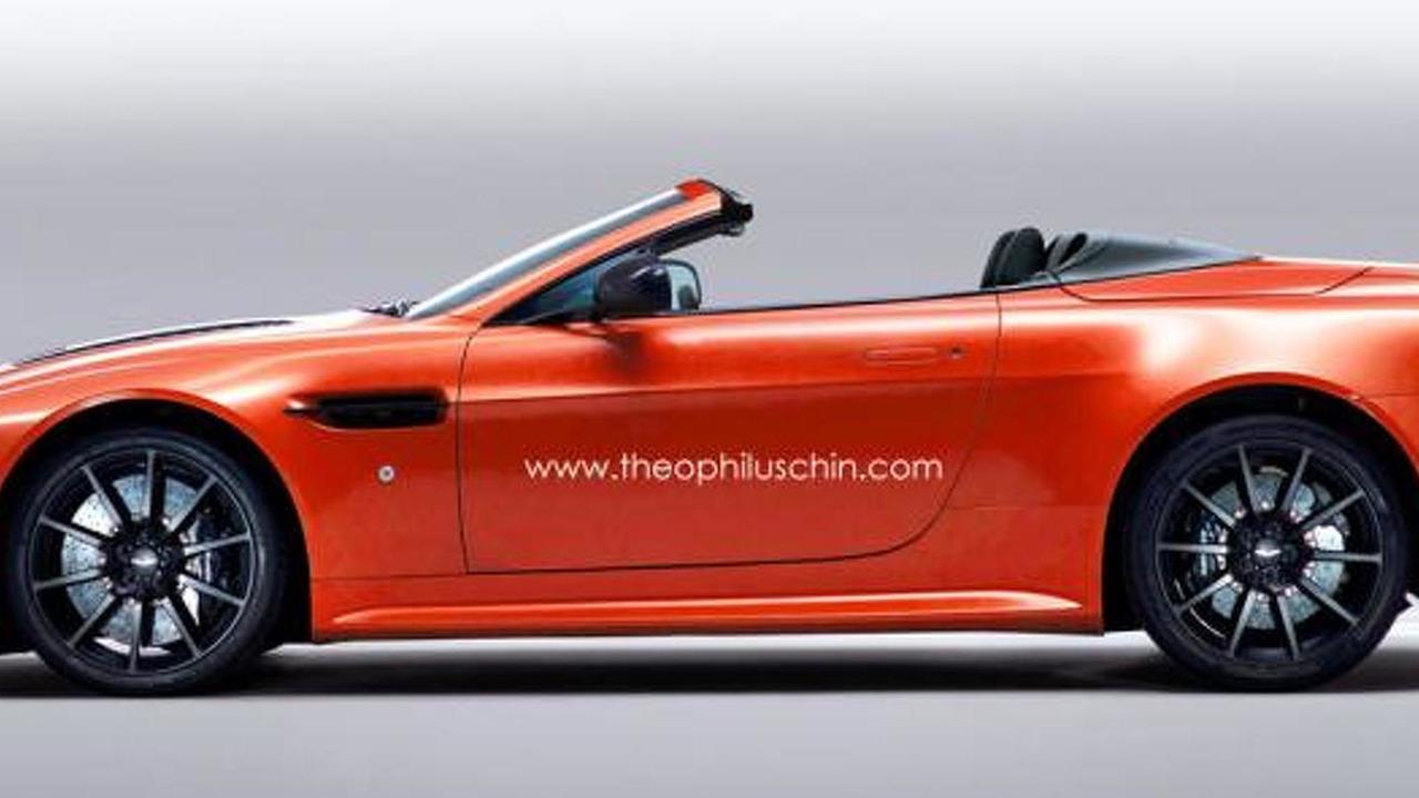 Aston Martin V12 Vantage S Roadster render 03.06.2013
