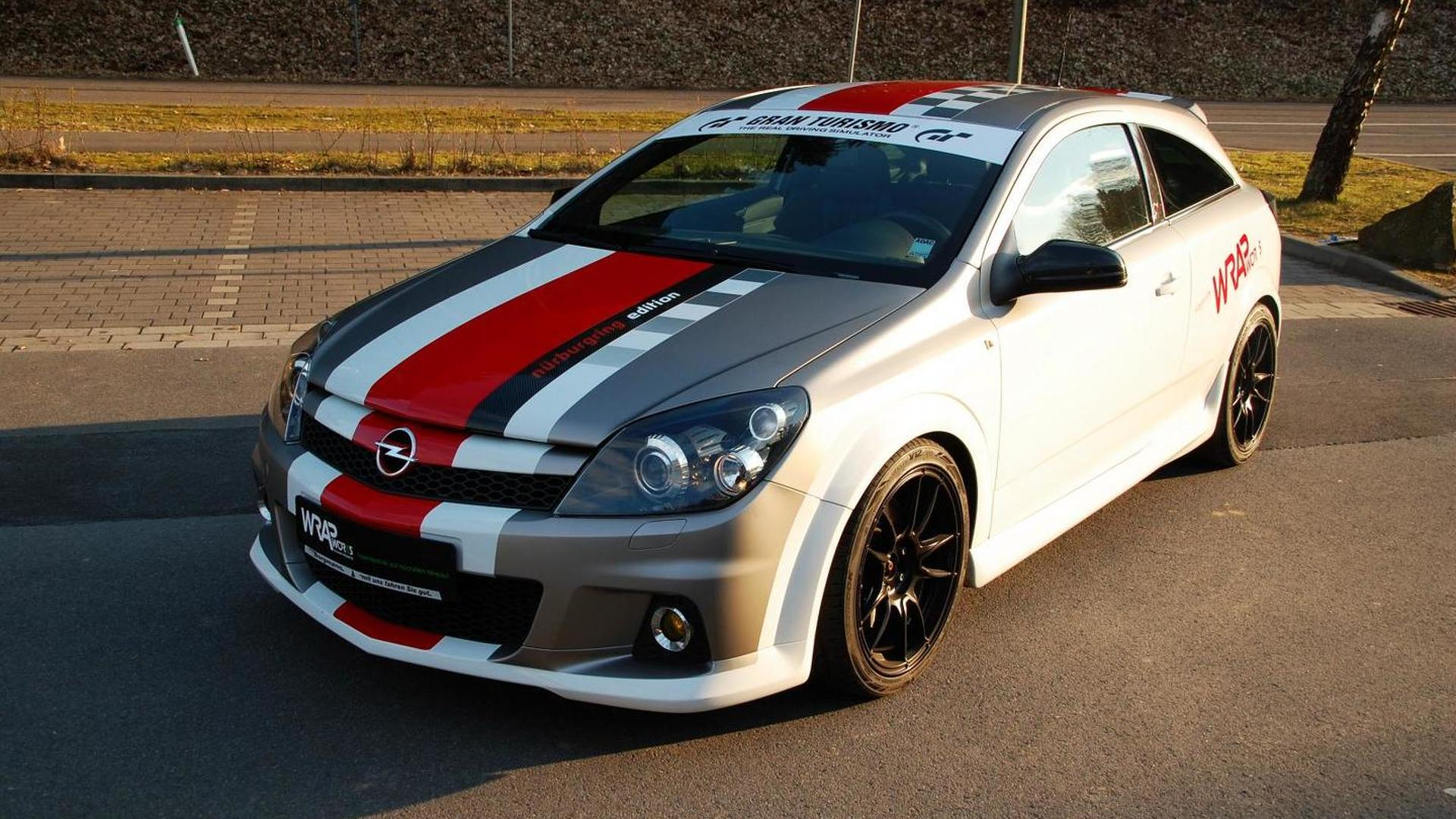 opel astra h opc nurburgring edition modified by wrap works. Black Bedroom Furniture Sets. Home Design Ideas