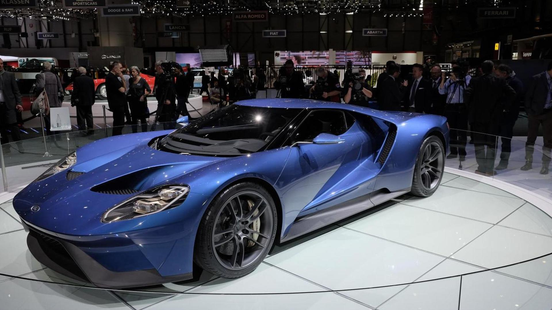 2017 Ford GT to cost around $400,000; annual production capped at 250 units