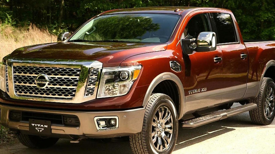 Nissan highlights the Cummins turbodiesel engine in the 2016 Titan XD [video]