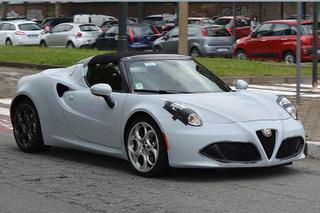 Snapped: Alfa Romeo 4C Spider