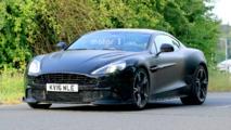Aston Martin Vanquish S: surprise près du Nürburgring
