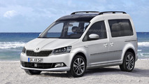 2016 Skoda Roomster render is probably spot on
