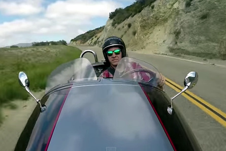 Morgan Three-Wheeler Is a Love of Driving, Distilled [video]