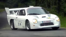 Aborted Audi Group S rally car runs in public for the first time