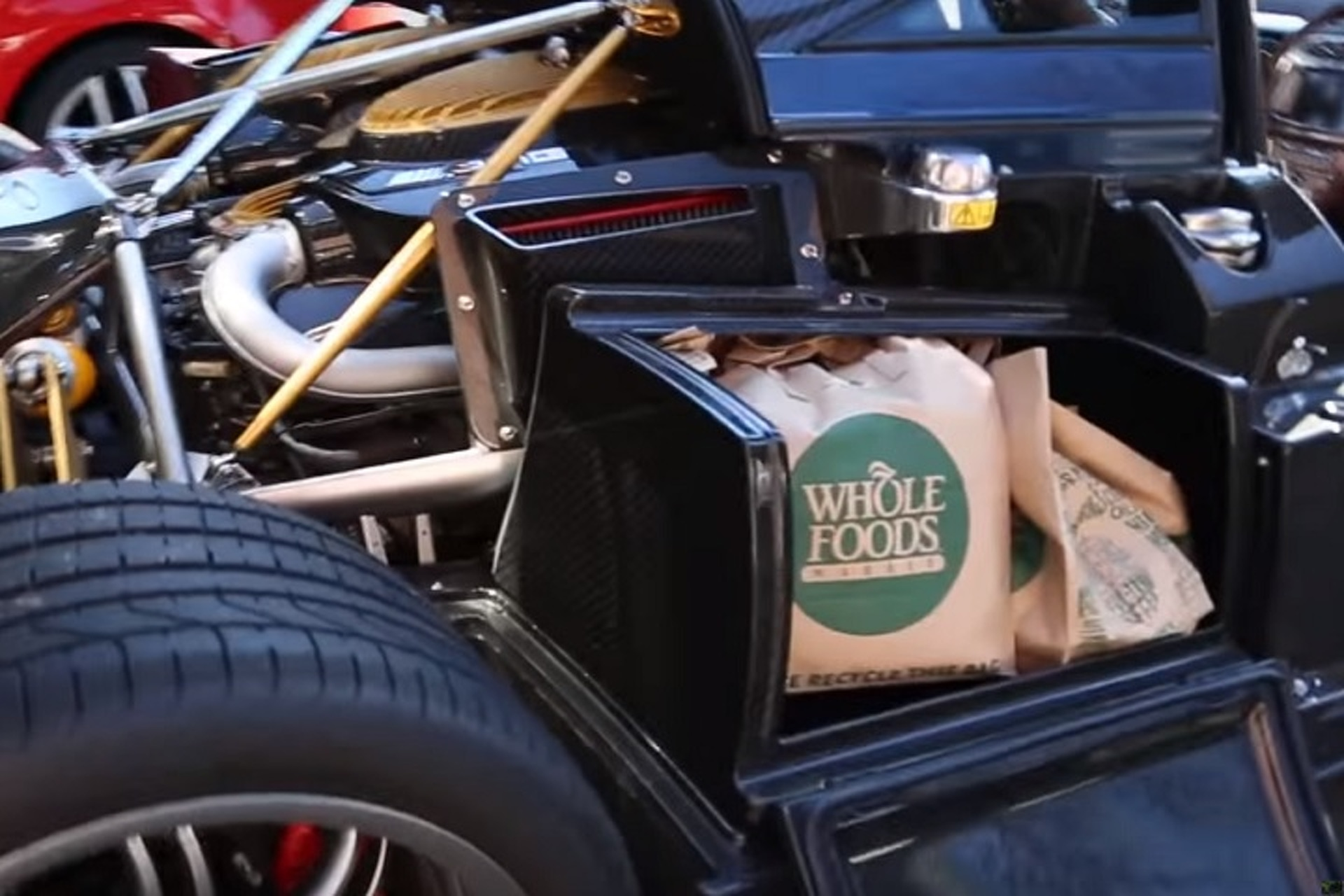 This is What It's Like to Go Grocery Shopping in a $1.3M Hypercar