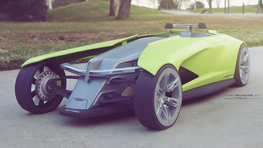 Dodge Osis Concept: The American Track Car of the Future