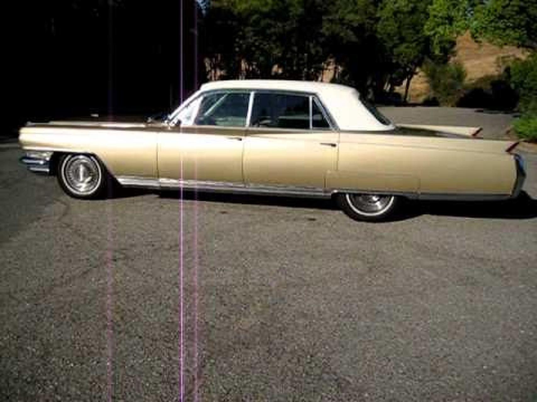 1964 Gold Fleetwood Cadillac Walkaround