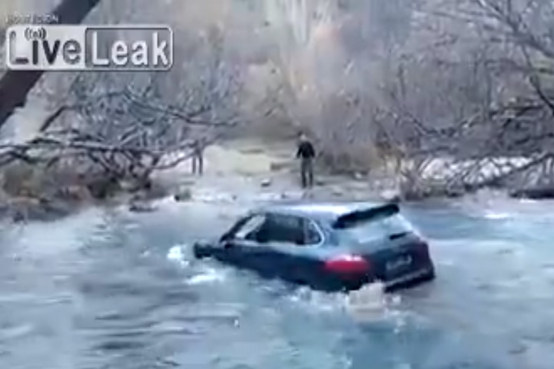 See Proof The Porsche Cayenne is Not a Boat
