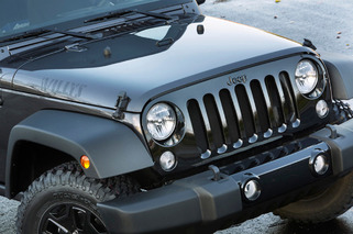 Jeep Wrangler Willys Wheeler Edition Channels First Civilian Jeeps