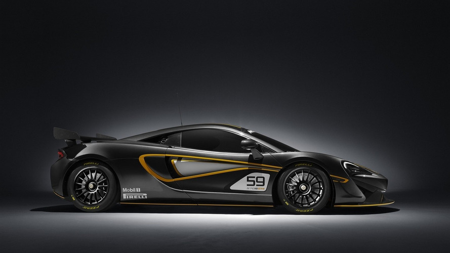 Track-only McLaren 570S Sprint to make debut at Goodwood