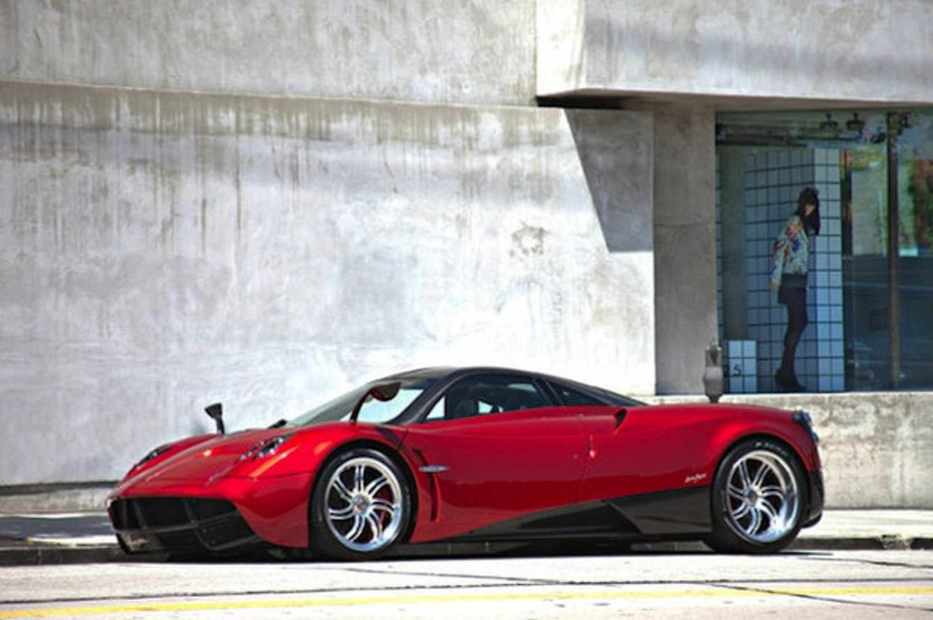 The Very First Pagani Huayra is Up For Sale