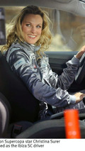Christina Surer in Seat Ibiza SC commercial