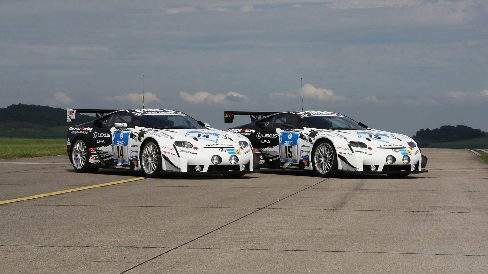 Lexus Releases LF-A Race Car Images Ahead of 24-hour Nürburgring Race