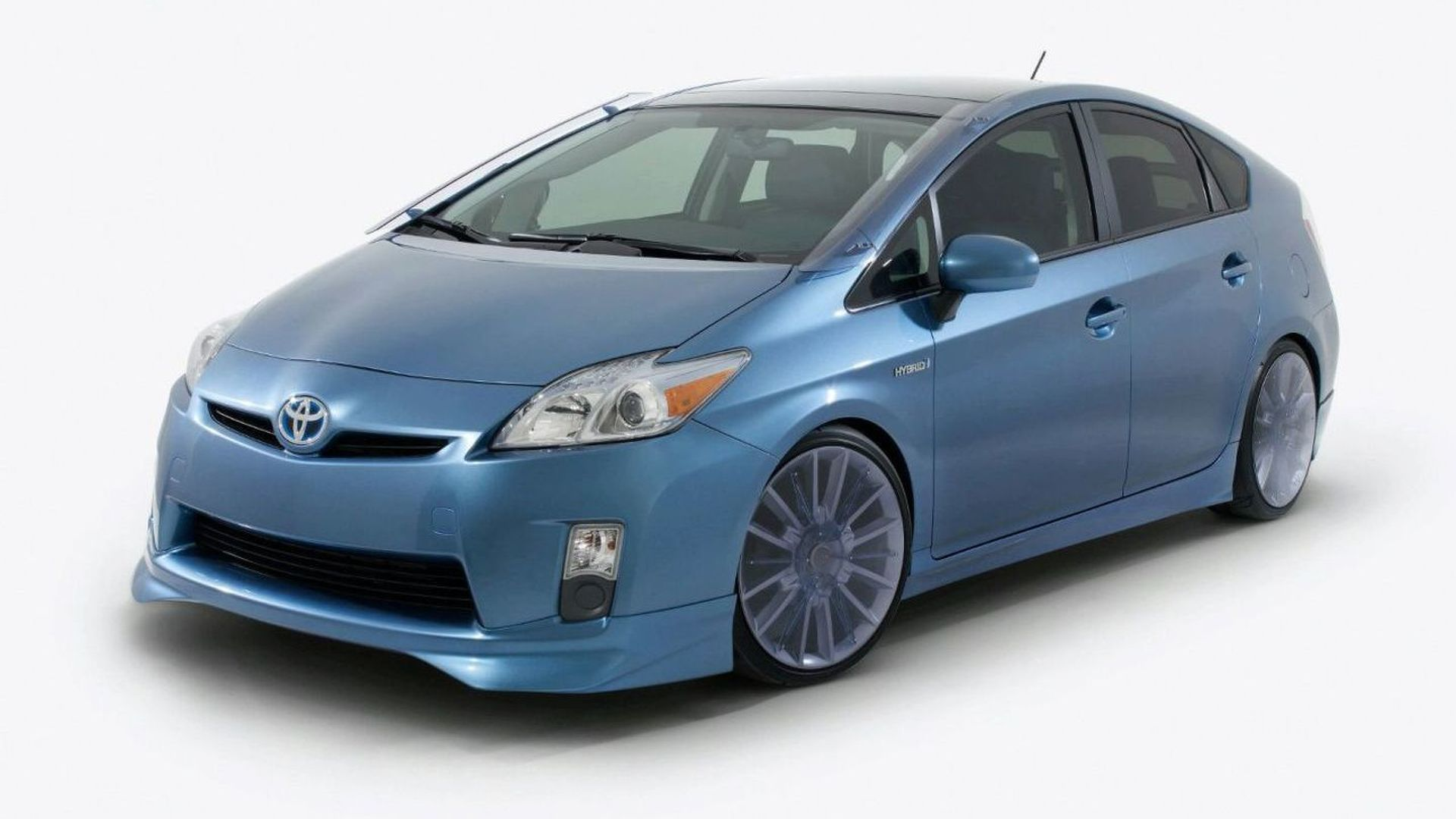 Toyota Prius Aerius and Aemulus for SEMA