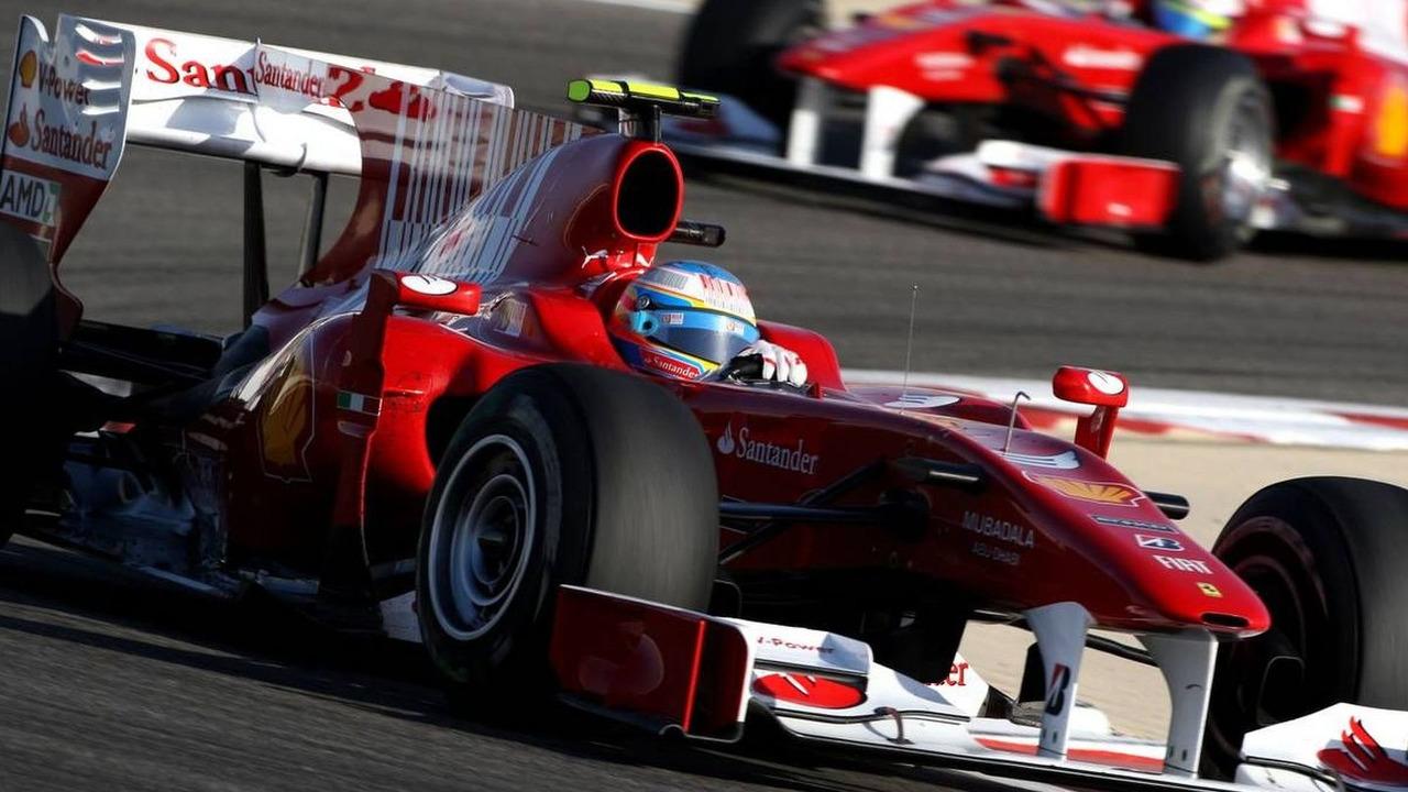 Fernando Alonso (ESP), Felipe Massa (BRA), Bahrain Grand Prix, 14.03.2010 Sakhir, Bahrain