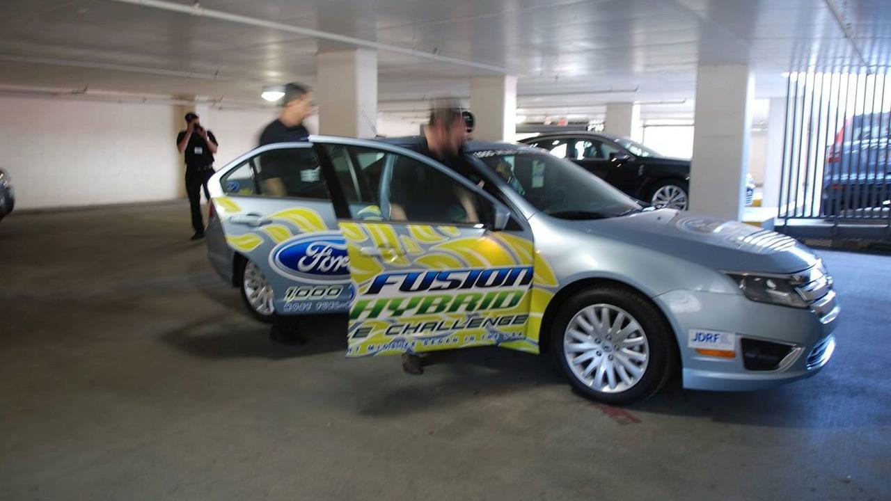 Ford Fusion Hybrid Mileage Challenge