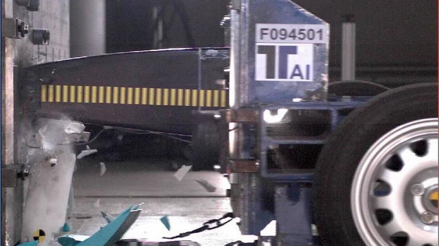 2011 Ferrari passes monocoque crash tests