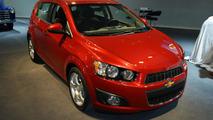 2012 Chevrolet Sonic hatchback 10.01.2011