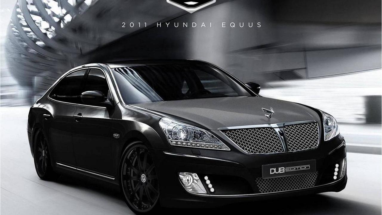 Hyundai Equus DUB Edition for SEMA 2010
