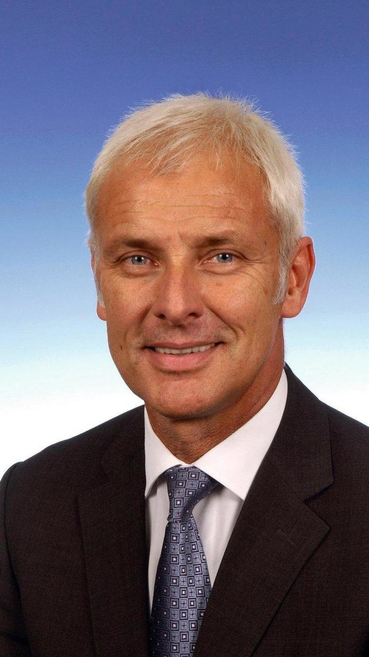 Matthias Müller Porsche President and CEO from 10.2010, 06.07.2010