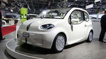 Valmet Eva Electric Vehicle Concept live in Geneva - 03.03.2010