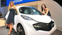 Hyundai hatchback prototype leaked photos - ix Metro Concept