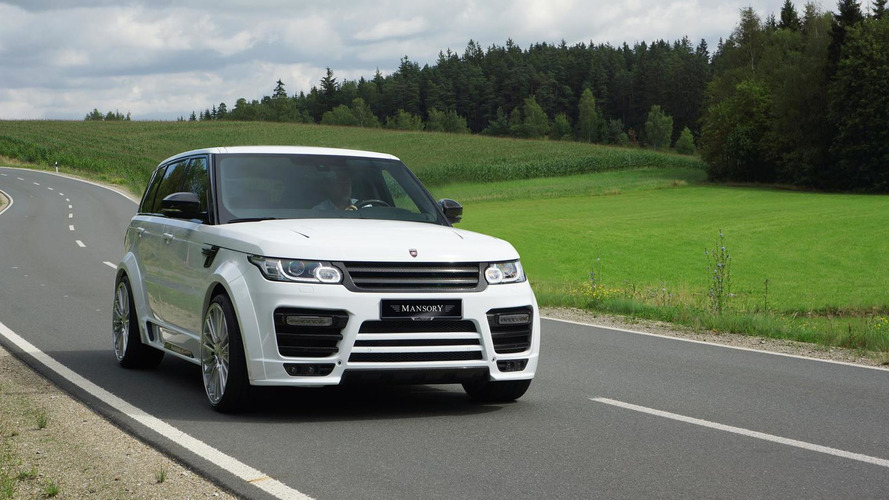 Mansory prepares power packages for Range Rover lineup