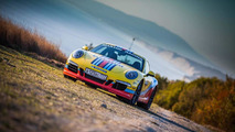 Porsche 911 with Martini Racing livery