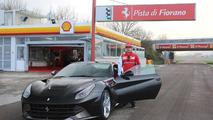 Kimi Räikkönen tackles Fiorano in the Ferrari F12 Berlinetta [video]